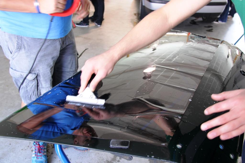 Tönen Lernen Autotönung Lehrgang Tönungsfolie Schulung Kurs