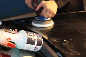Kratzer polieren auto